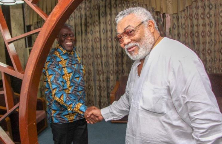 Rawlings and Amissah Arthur, Ghana Political News Report Articles