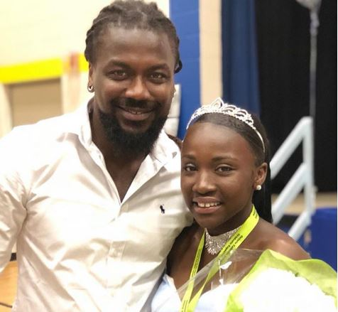 Samini and daughter