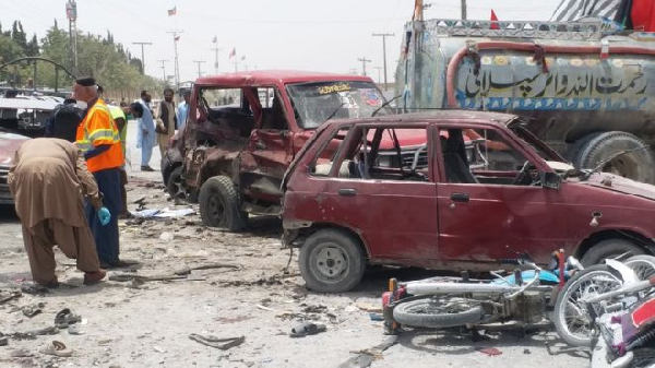 The attack in Quetta has been claimed by the Islamic State group