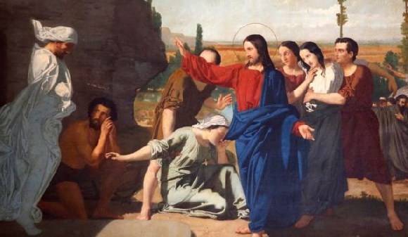 The family gave their permission after hearing the man tell the story of Lazarus
