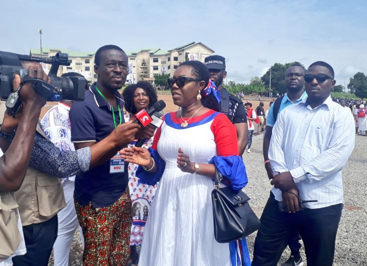 Ursula Ekufful at NPP conference, Ghana Political News Report Articles