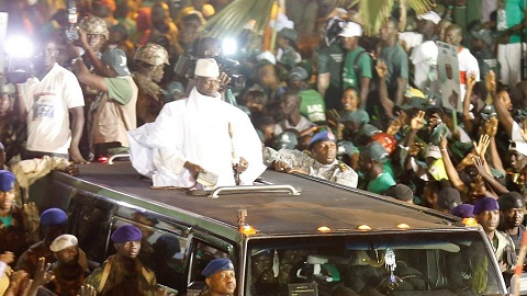 Jammeh's 20-year reign came to an end in 2017