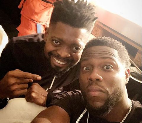Basketmouth and Kelvin hart