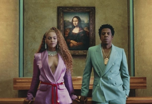 Beyonce and her husband, Jay Z