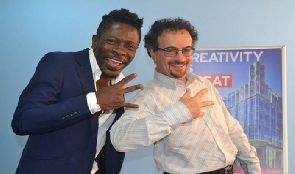 Jon Benjamin and Shatta Wale