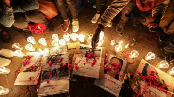 Kenyans have been demanding justice following the murder of Sharon Otieno