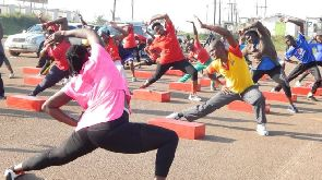 Some Ugandans do work out - but most don't need to