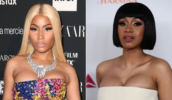 The feud between Nicki and the Bodak Yellow rapper has been simmering for a while now