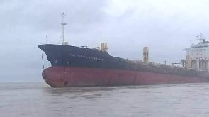 The vessel, built in 2001, is more than 177 metres long