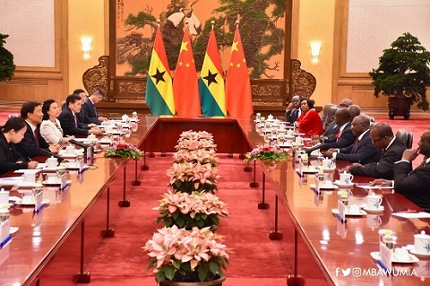 Vice President Bawumia in bilateral talks with China