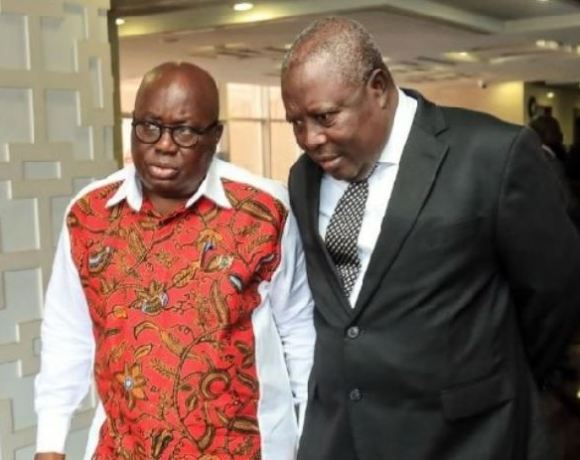 Akufo-Addo and Martin Amidu