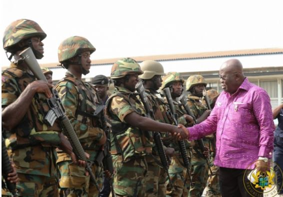 Akufo-Addo warns soldiers