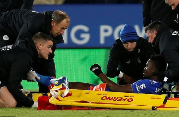Amartey injured