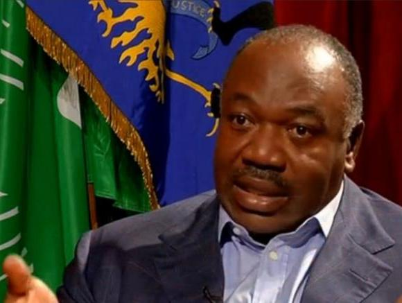 A still image from video shows Gabon President Ali Bongo being interviewed in Libreville