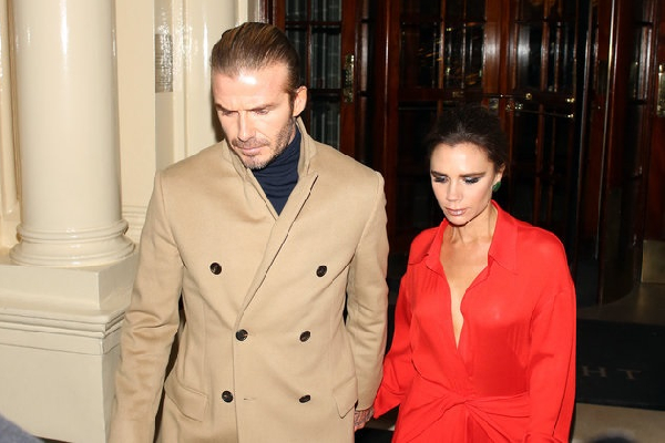 David Beckham and Victoria have been married for over 20 years