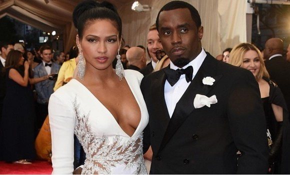 Diddy and Cassie prior to their breakup