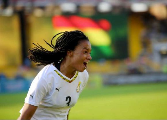 Linda Eshun Black Queens player