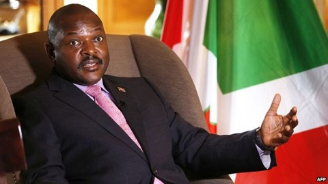 Pierre Nkurunziza, who has been president since 2005, says he will step down in 2020