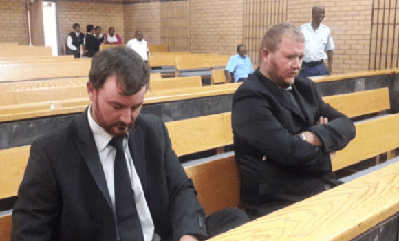 The two men are expected to be sentenced on Thursday.