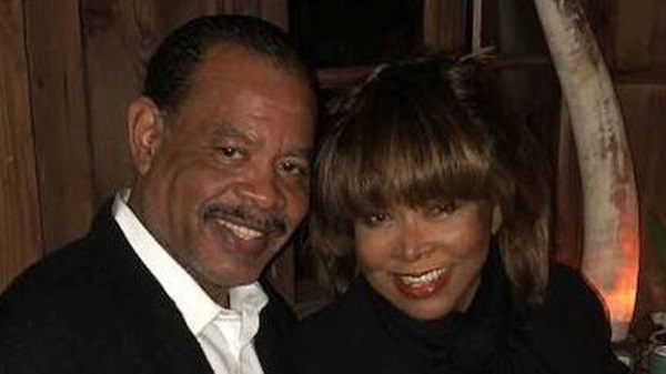 Tina Turner pictured with her son Craig