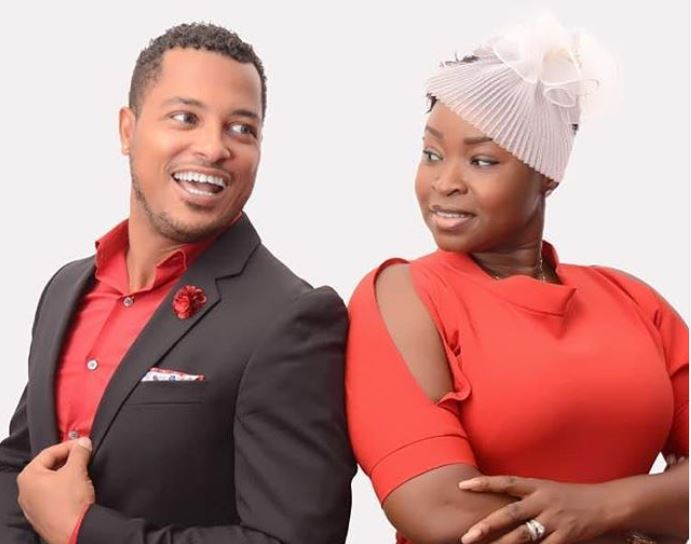 Van Vicker and wife, Ghana Music News Articles