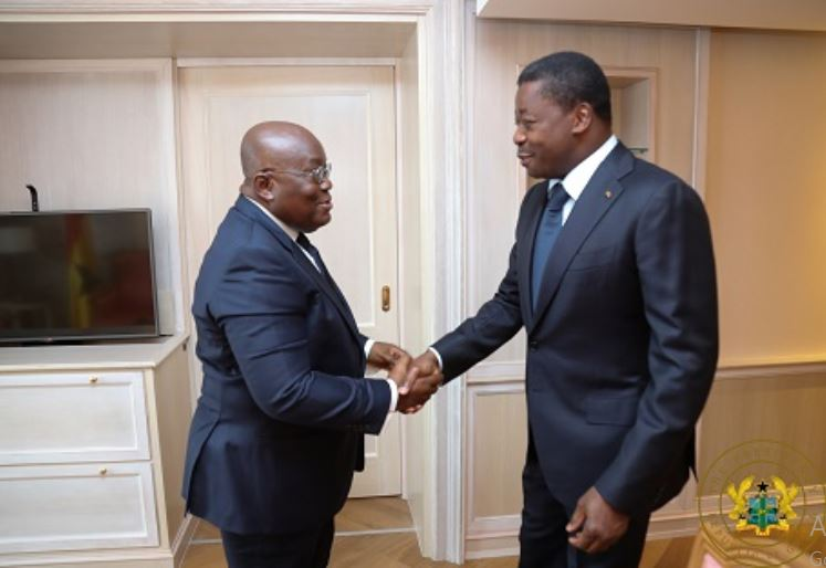 Akufo-Addo and Faure Gnassingbé