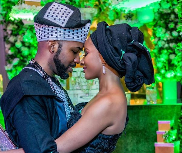 Banky W and wife