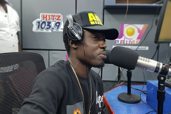 Ghanaian rapper Criss Waddle