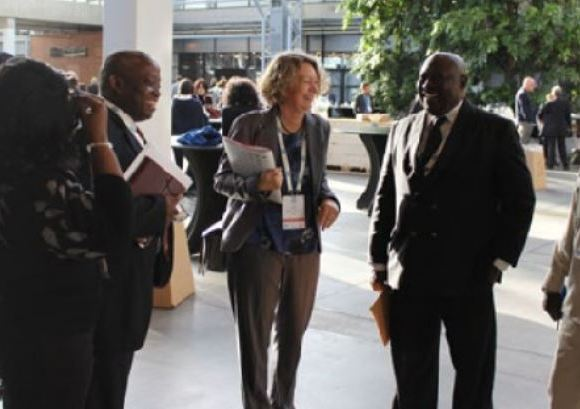 Martin Amidu, Special Prosecutor with others in Denmark for the Corruption Conference