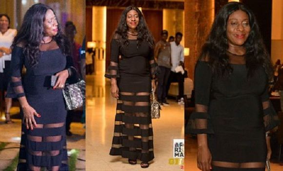 Minister for Tourism, Arts and Culture, Catherine Afeku at the AFRIMA event