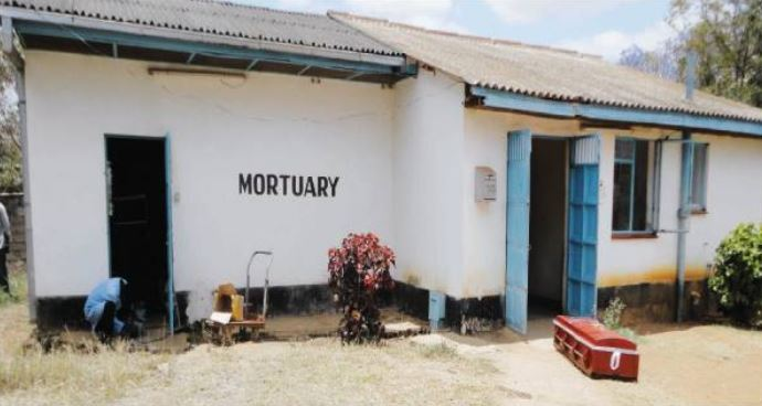 Mortuary workers