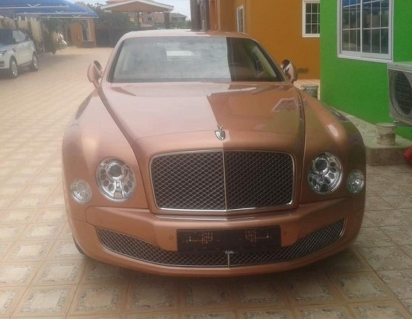 One of Obinim's new cars