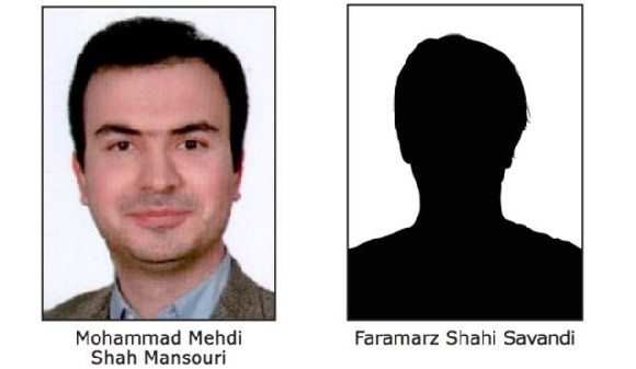 The accused are currently believed to be in Tehran