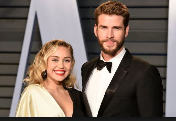 The home belonging to Miley Cyrus and Liam Hemsworth has been burned to the ground