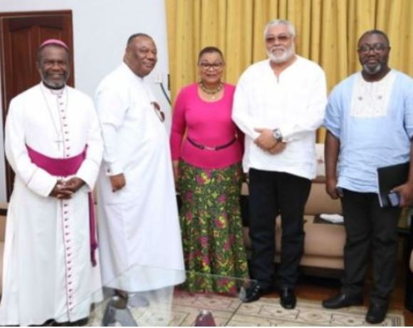 Catholic -Church - Rawlings to support them