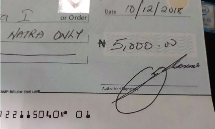 Dud cheque, Ghana Music News Articles