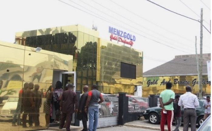 Menzgold customers protest