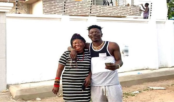 Shatta Wale and his mother