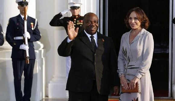 The 59-year-old Gabonese president was admitted on 24 October