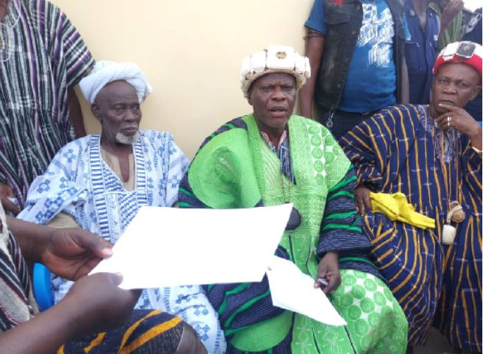The Abudu Royal Family has handed over the palace to REGSEC