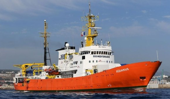 The Aquarius has been stuck in Marseille since its registration was revoked