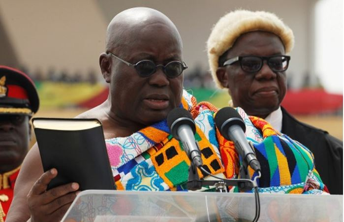 Akufo-Addo swearing in ceremony