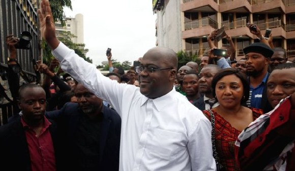 Felix Tshisekedi leads DR Congo's largest opposition party, founded by his late father