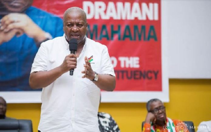 John Mahama takes on Akufo-addo