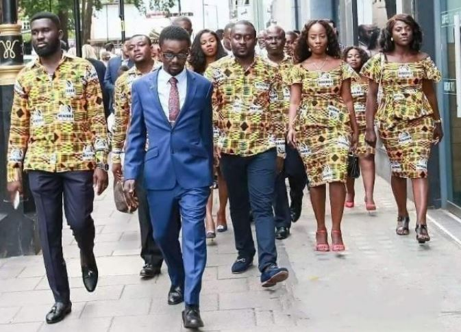 Nana Appiah and team