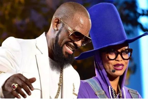 R Kelly and Eryka Badu