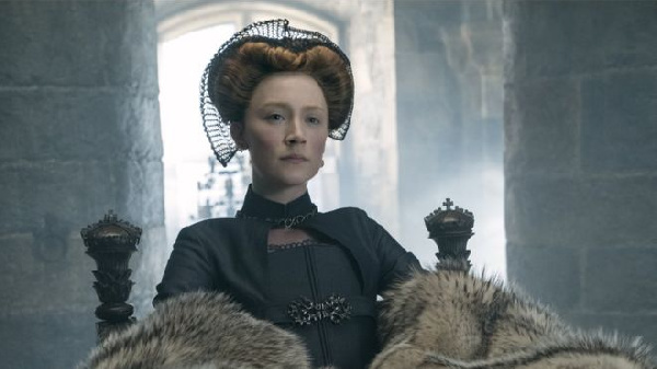 Saoirse Ronan stars in Mary Queen of Scots, which is released in the UK this weekend