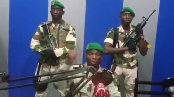 Soldiers announced on state media that they had seized power