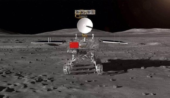 The Moon rover as depicted in Chinese state media
