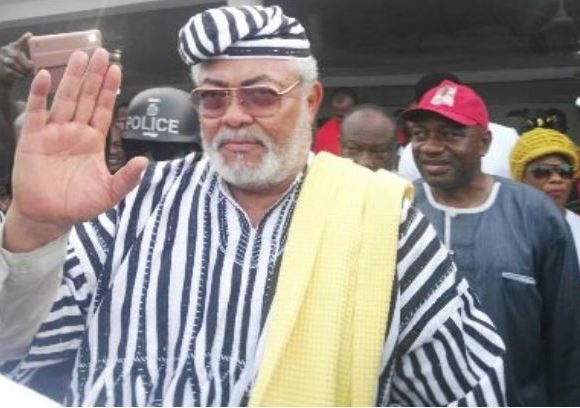 jerry john Rawlings in dagbon